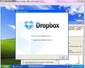 Dropbox in Virtual Machine